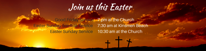 Easter service in Invermere BC